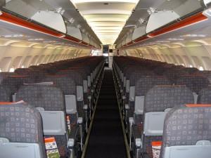 EasyJet coach seats